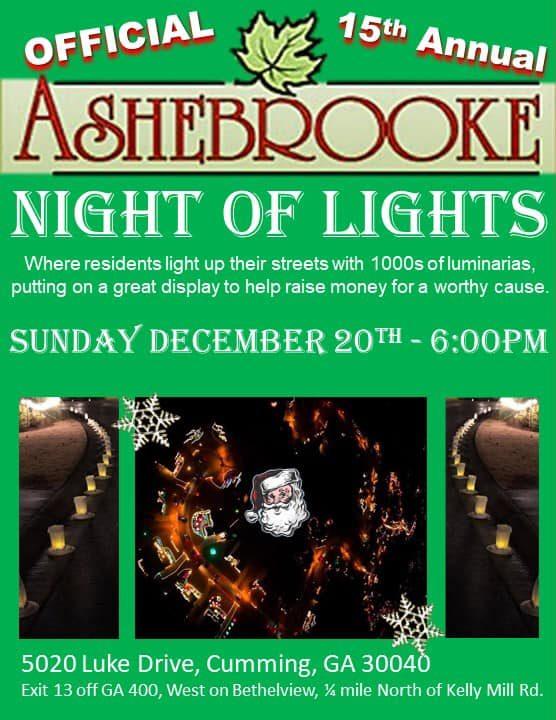 Ashebrooke Night of Lights