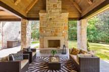 outdoor living spaces designed
