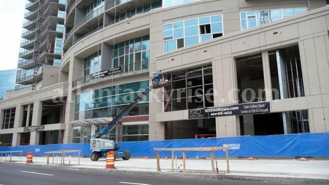 1010 Midtown Progress Photo