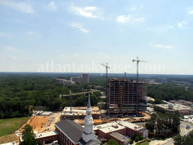 3630 Peachtree Construction Progress