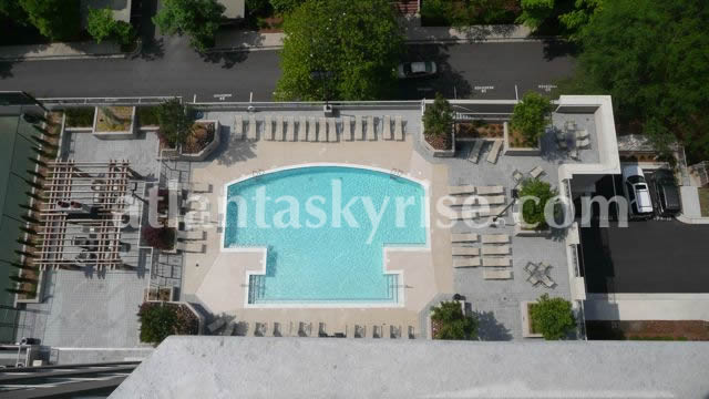 Gallery Buckhead Pool Overhead