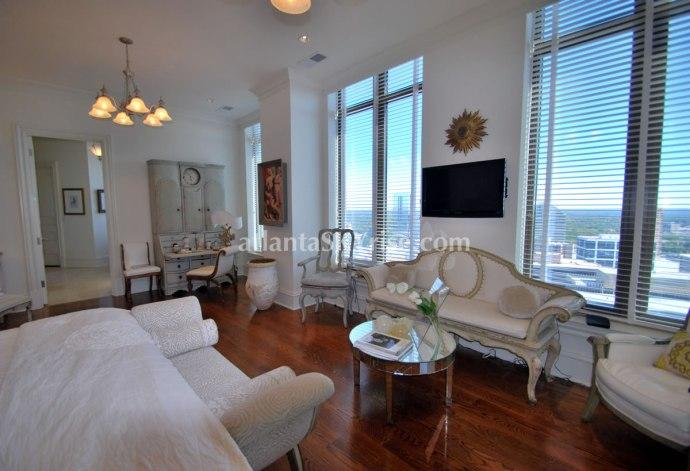 Mandarin Oriental Atlanta Residence 42B Master Bedroom 2