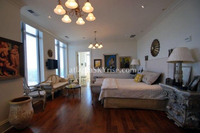 Mandarin Oriental Atlanta Residence 42B Master Bedroom