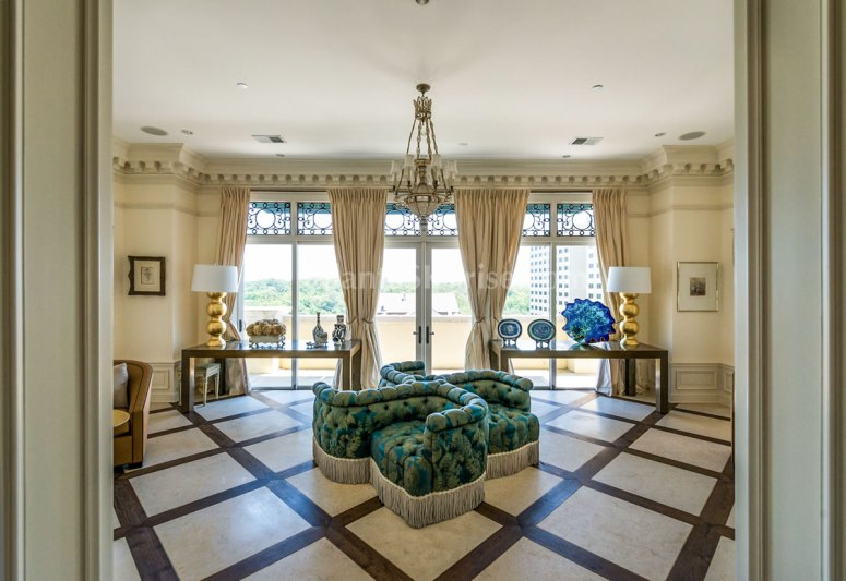 2500 Peachtree Penthouse 902N Living Room 2