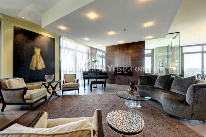 The Astoria Penthouse 1504 Living Room 2