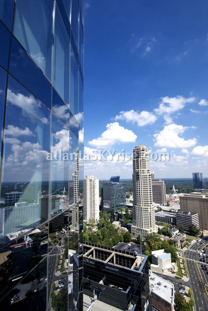 Buckhead Atlanta Skyline September 2013