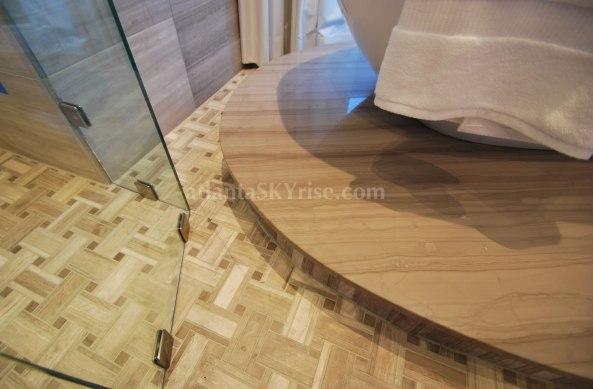 Mandarin Oriental 45B Master Shower Flooring