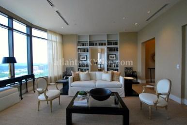 Mandarin Oriental Residences Atlanta 45A Living Room 2