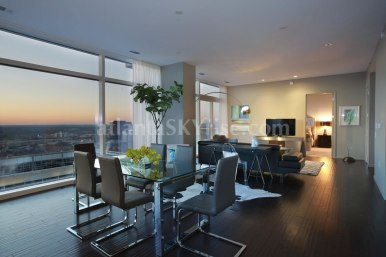 W Atlanta Residences 2304 Great Room 2