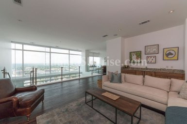 W Residences 45 Ivan Allen Penthouse 2703 Sitting Room 3