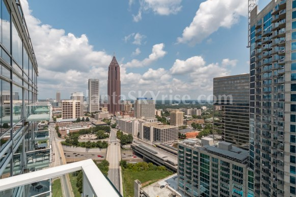 W Residences 45 Ivan Allen Penthouse 2706 City View 1