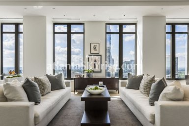 Mandarin Oriental Residences Atlanta Unit 39 Great Room 2