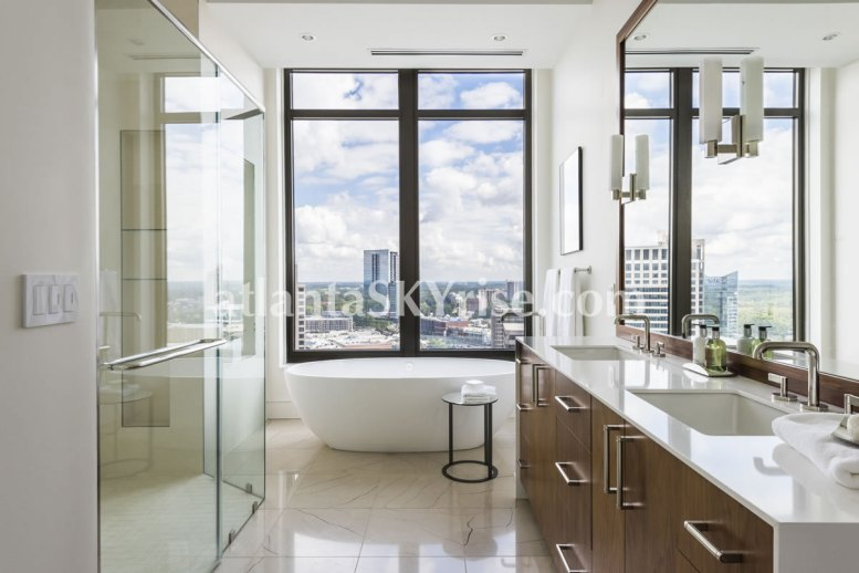 Mandarin Oriental Residences Atlanta Unit 39 Master Bathroom 4