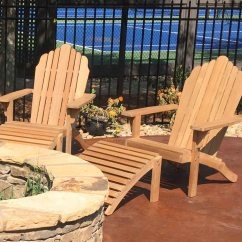 Adirondack Chairs Portland Oregon Best High Chair Easy To Clean Grand With Footrest Atlanta Teak Furniture