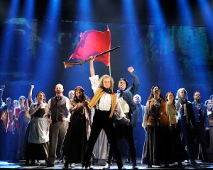 Les Miserables at the Fox Theatre in Atlanta