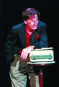 Bill Oberst, Jr. as Lewis Grizzard at ART Station, an Atlanta Theater