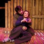 Chad Martin and Kate Graham in Atlanta's Synchronicity Theatre's Brilliant Traces