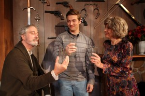 James Donadio, Brian Hatch, Mary Lynn Owen. Photo by Georgia Ensemble Theatre