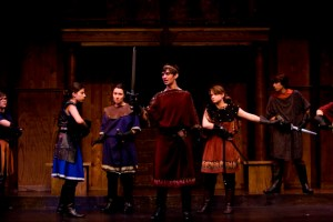 Julius Caesar at the Tavern's Shakespeare Intensive for Teens