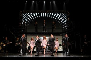 The cast of Jersey Boys performs at Atlanta's Fox Theatre