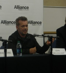 John Mellencamp writes the music and lyrics for Ghost Brothers of Darkland County, which will premiere at Atlanta's Alliance Theatre in April 2012.