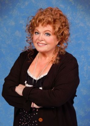 Sally Struthers as Miss Hannigan at Atlanta's Fox Theatre in Theater of the Stars' production of Annie.