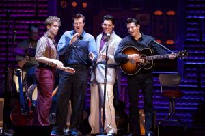 The cast of Million Dollar Quartet National Tour. Photo by Jeremy Daniel