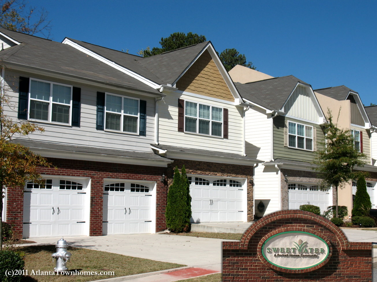Sweetwater Townhomes in Lawrenceville GA