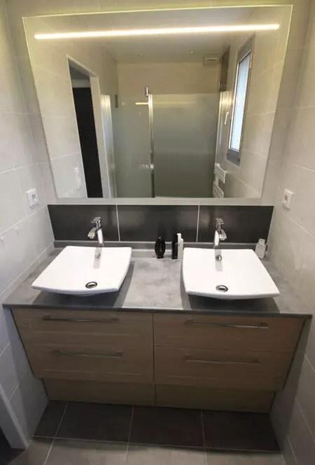 Meuble Vasque Deux Robinets - Décoration de maison idées de design d ...