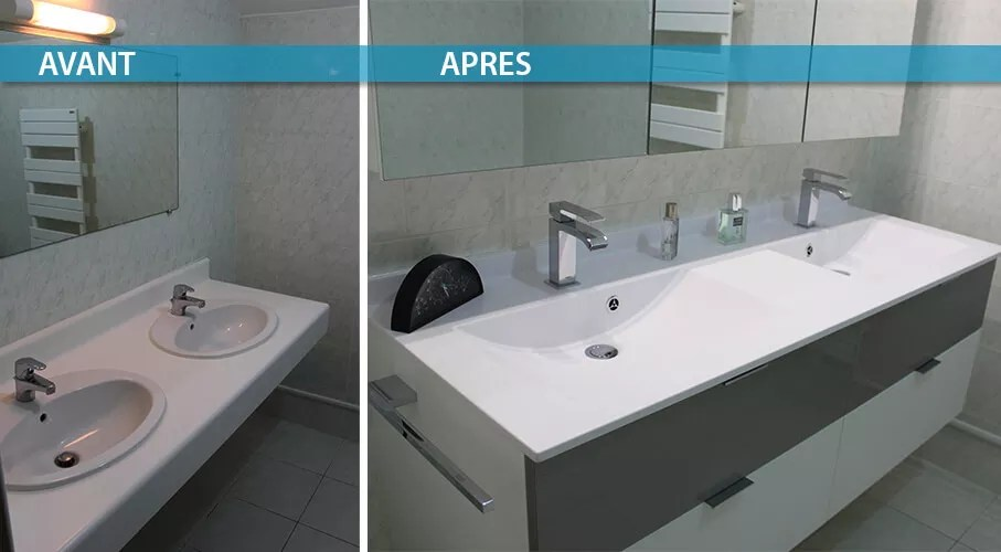 6 Exemples De Renovation De Salle De Bain Avant Apres Atlantic Bain