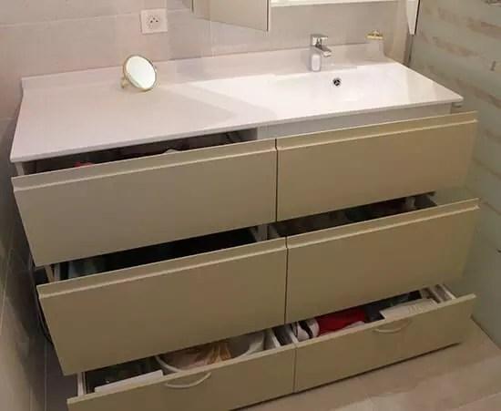 rangements de votre salle de bain