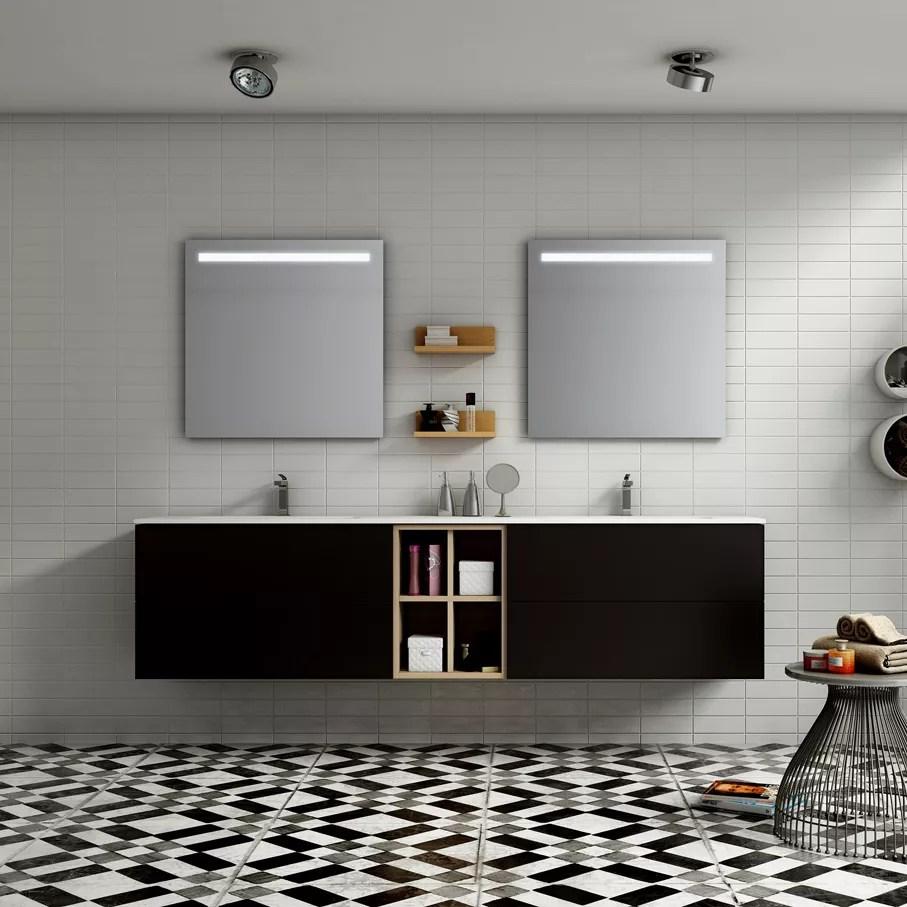 Meuble de salle de bain Meubles avec grands rangements  Atlantic Bain