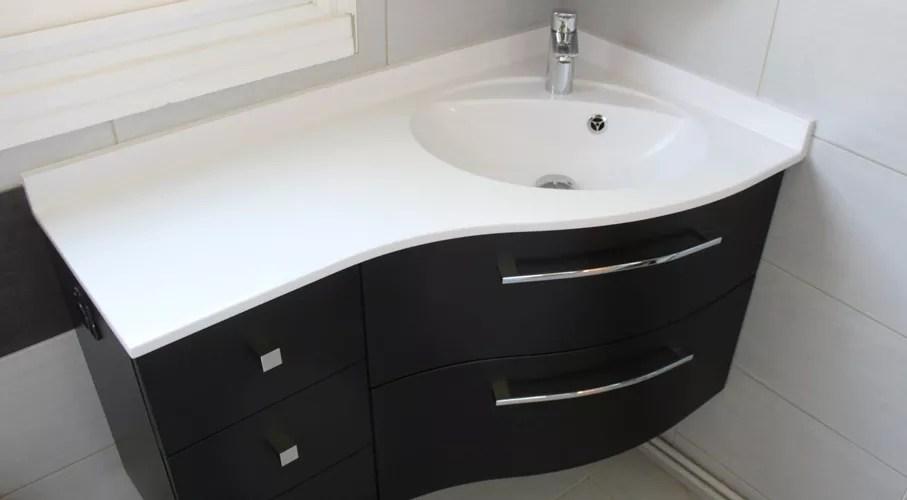 rakiura meuble d angle noir et blanc