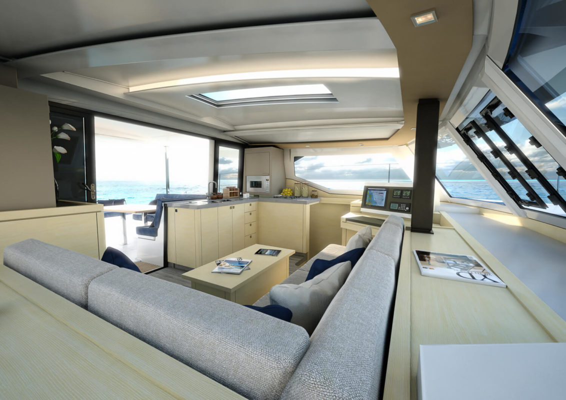 The New Fountaine Pajot Lucia 40 Atlantic Cruising Yachts