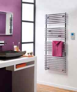electric towel rail Atlantic Timelis Chrome