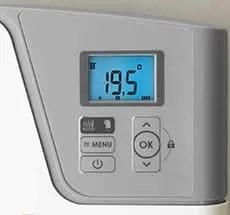 ψηφιακός θερμοστάτης LCD ηλεκτρική πετσετοκρεμάστρα Atlantic KEA