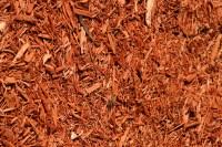 Red Colored Designer Mulch - Atlantic Mulch