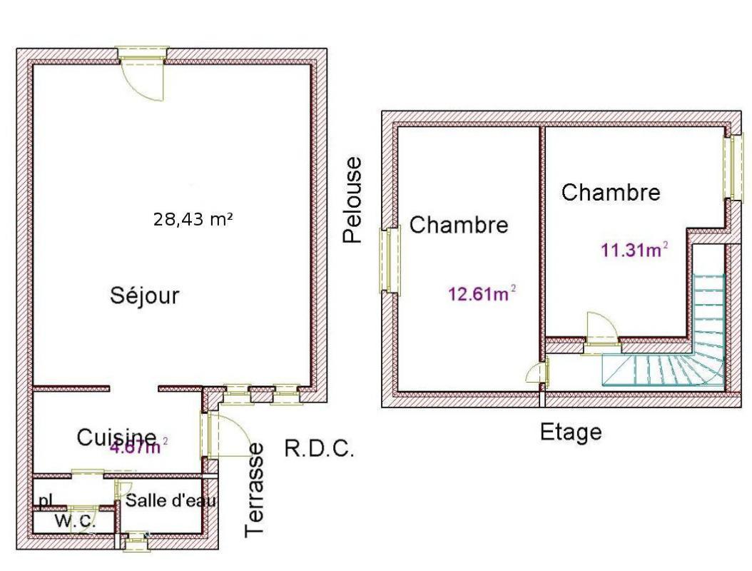 hight resolution of interior plan