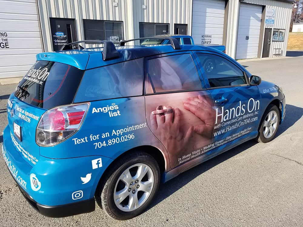 Small Business Vehicle Wrap