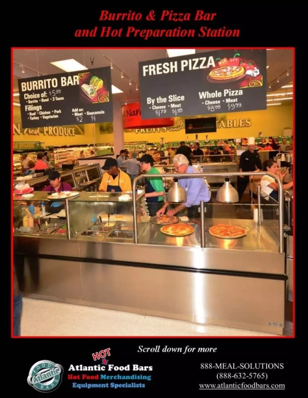 Atlantic Food Bars - Burrito & Pizza Bar and Carving Prep Station 3