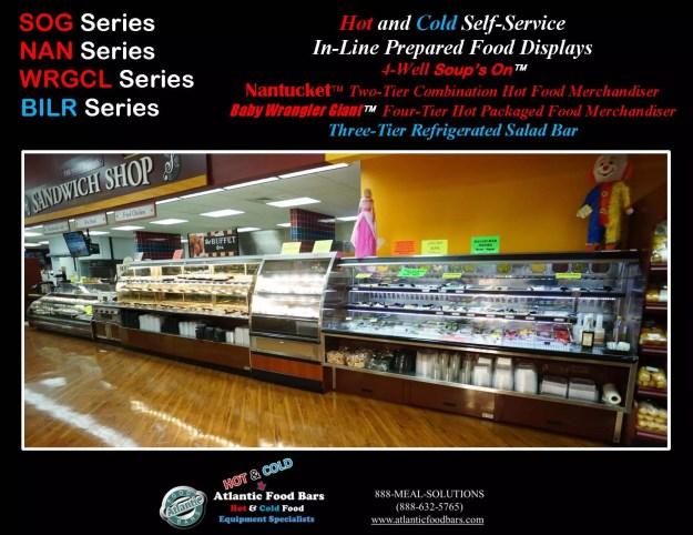 Atlantic Food Bars - Hot & Cold Prepared Foods Deli Lineup - WRGCL4837 SOG4836 NAN14436 BILR11734 2