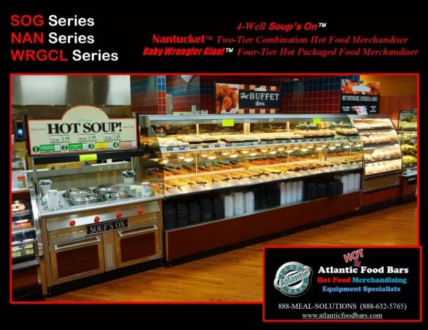Atlantic Food Bars - Hot & Cold Prepared Foods Deli Lineup - WRGCL4837 SOG4836 NAN14436 BILR11734 3