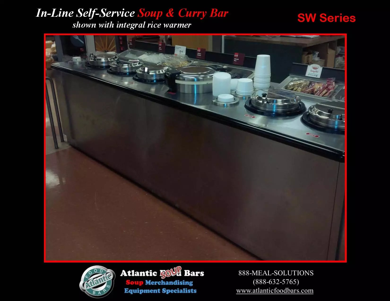 Atlantic food bars soup curry bar w integral rice for Food bar 2015