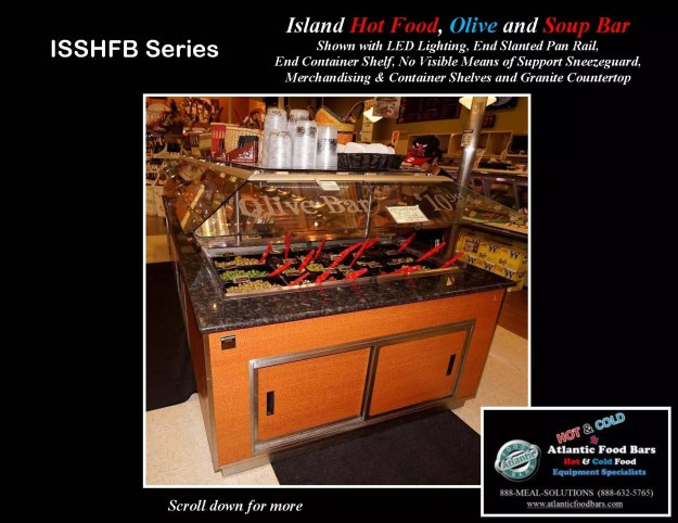 Atlantic Food Bars - Island Hot Food, Soup and Olive Bar - ISSHFB-ECS-GC-LB-LED-RSD2-SPR-VH 4