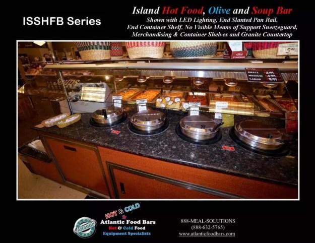 Atlantic Food Bars - Island Hot Food, Soup and Olive Bar - ISSHFB-ECS-GC-LB-LED-RSD2-SPR-VH 5