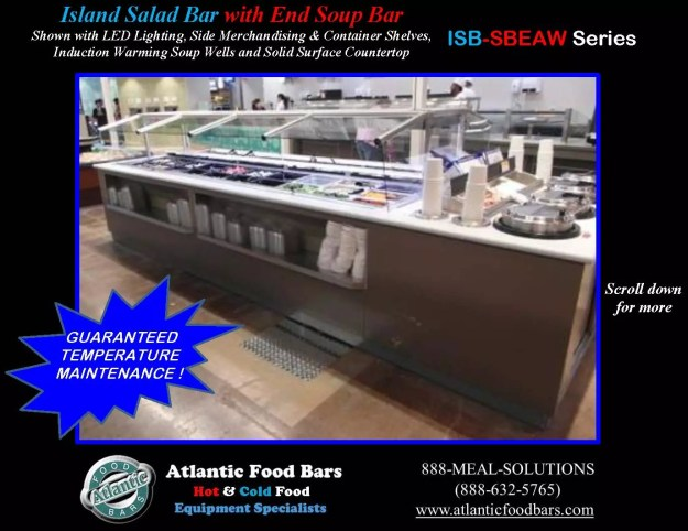 Atlantic Food Bars - Island Salad and Soup Bar - ISB-SBEAW 1