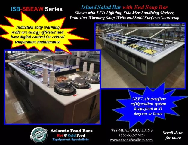 Atlantic Food Bars - Island Salad and Soup Bar - ISB-SBEAW 2