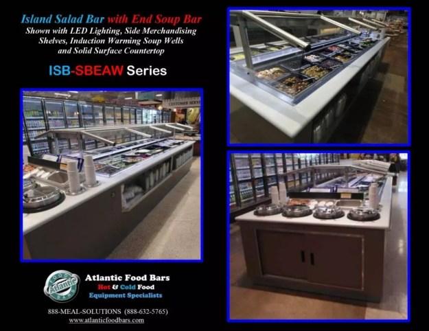 Atlantic Food Bars - Island Salad and Soup Bar - ISB-SBEAW 3