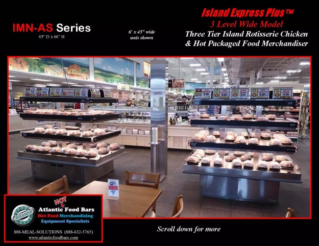 Atlantic Food Bars - Three Level Island Express PLUS Wide Hot Packaged Food Merchandiser - IMN7245-AS_Page_4