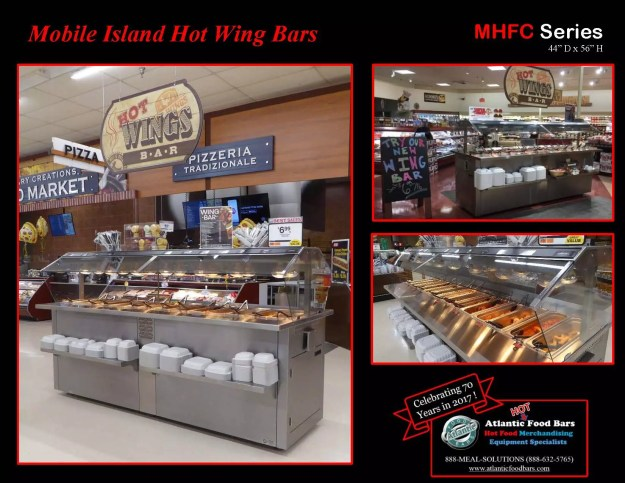 Atlantic Food Bars - Mobile Island Hot Wing Bars - MHFC